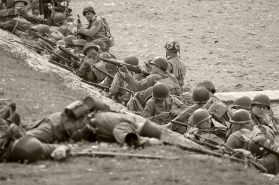 D-Day reinactment in Conneaut, Ohio, event photography