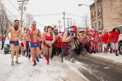 Cupid's Undie Run Cleveland, event photography