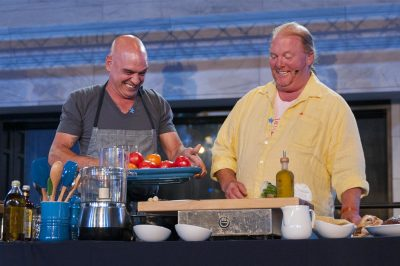 Michael Symon, Mario Batali, Autism Speaks Cleveland 2014 Chef Gala, Cleveland Museum of Art